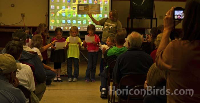 Princeton Elementary students reading
